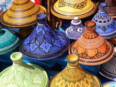 Morocco - The ten most used spices in Moroccan food are... Cayenne - Cinnamon - Turmeric - Ginger - Black Pepper - Aniseed - Sesame seeds - Paprika - Cumin - Saffron.