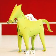 Horse Container Green now featured on Fab.