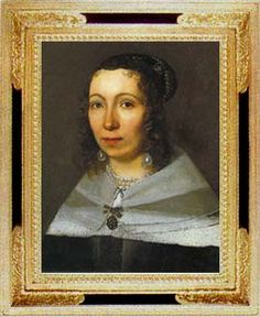 In 1699, at the age of 52 years, Maria Merian and her daughter set sail for the Dutch colony of Surinam in South America. In those days such a voyage took three months. It was shocking for women, especially an old woman of 52, to undertake such a voyage. For two years the two women explored Surinam, painting insects and plants as they traveled. This is a self-portrait of Maria Sybilla Merian.