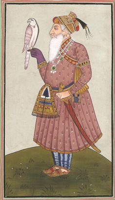 Mughal Emperor Portrait Art