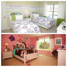 Nice little girl bedroom from Lennar Homes Atlanta