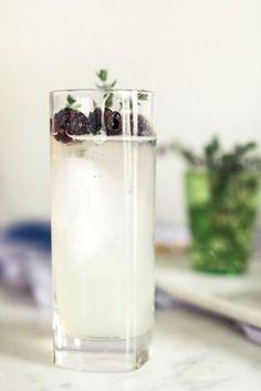 Welcome beverages - berry lemonade
