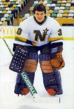 Roland Melanson - Minnesota Minnesota North Stars, Minnesota Wild, Women's Hockey, Hockey Players, Classic Football Shirts, Goalie Mask, Good Old Times, National Hockey League, Nhl