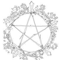 Have You Always Known Were Magic The Coloring Book Of Shadows Is A Delightful