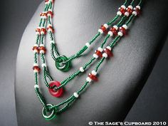 Christmas Candy Necklace by The Sage's Cupboard