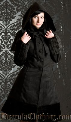 #Goth $196 from www.draculaclothing.com