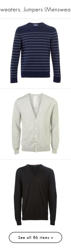 """Sweaters, Jumpers (Menswear)"" by giovanna1995 ❤ liked on Polyvore featuring Sweater, jumper, men's fashion, men's clothing, men's hoodies, men's sweatshirts, men, tops, menswear and guy"