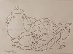 Arte * Vida: Cerâmica,Couve Flor e Jiló