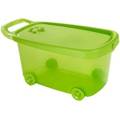 green roller toy