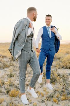 Wedding Suits Stylish, Fashion Gay Wedding in Algarve, Portugal - Film Photography Wedding Tux, Lgbt Wedding, Wedding Poses, Gothic Wedding, Wedding Makeup, Wedding Favors, Wedding Invitations, Wedding Rings, Gay Men Weddings