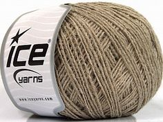 Paco Viscose Superfine Beige  Fiber Content 80% Acrylic, 20% Viscose, Brand Ice Yarns, Beige, Yarn Thickness 1 SuperFine  Sock, Fingering, Baby, fnt2-55925 Ice Yarns, Spring Summer, Sock, Content, Socks, Stockings