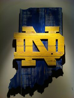 Hey, I found this really awesome Etsy listing at https://www.etsy.com/listing/186336597/wooden-state-of-indiana-with-notre-dame