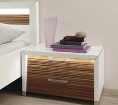 DIY Bed Side Tables � Choosing Bed Side Table for Your Home: Bedside Table With Stack Of Books ~ gozetta.com Furniture Inspiration