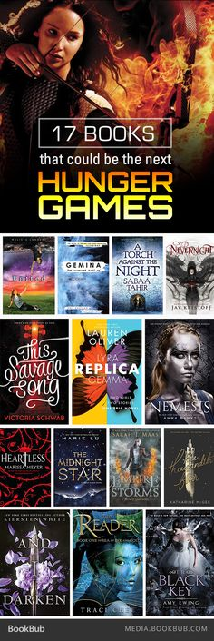 17 books to read if you love The Hunger Games, including reads from Marissa…