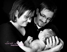 Cute parents/infant -another great pose
