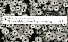 Little did he know he would marry an amazing girl... Jenna, the clique loves you! Tyler Joseph // Tyler tweets // Tyler and jenna