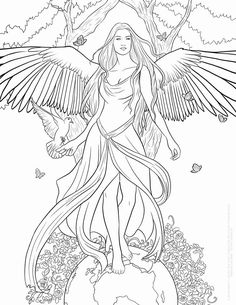 √ Angel Coloring Pages. 9 Angel Coloring Pages. Angel Coloring Pages, Coloring Pages For Grown Ups, Adult Coloring Book Pages, Printable Adult Coloring Pages, Christmas Coloring Pages, Coloring Pages To Print, Free Coloring Pages, Coloring Books, Colouring Pages For Adults