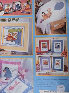 SeeSallySew.com - P is For Pooh Cross Stitch Leisure Arts Needlework Designs Book , $16.00 (http://stores.seesallysew.com/p-is-for-pooh-cross-stitch-leisure-arts-needlework-designs-book/)