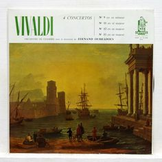 OUBRADOUS, BEX, GENDRE, RAMPAL, VEYRON-LACROIX - VIVALDI concerti rare ORPHÉE LP