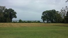A shot of Yorktown overlooking the water that Abigail will definitely be referring to in Designing America