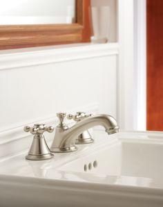 3 Hole Bathroom Faucet elliston … | pinteres…