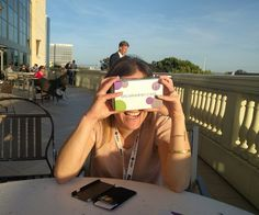 trying out #GoogleCardboard from @alicekeeler #ASUGSV #asugsvsummit http://alicekeeler.com - Twitter Search
