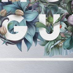 Wedding invite detail type. Design by Roman Gulman.