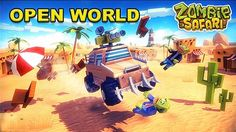 Zombie Offroad Safari is an action game - a fascinating simulation. You will drive huge cars in a dangerous world including zombies, defenders and looters.