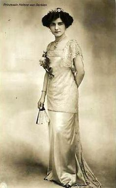 Helene Princess of Serbia