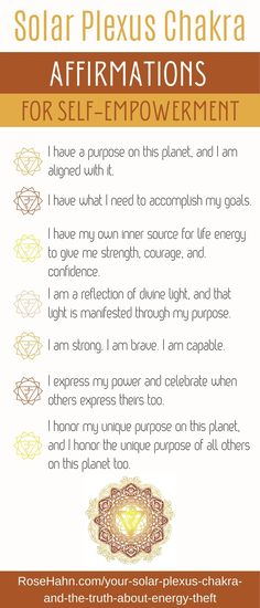 Solar Plexus Chakra Healing, Sacral Chakra Healing, Healing Affirmations, Positive Self Affirmations, Yoga Flow, Yoga Fitness, Self Empowerment, Plexus Products, Stand Strong
