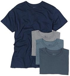 Our incredibly soft Fruit of the Loom Crew Neck T- shirts now with advanced odor protection technology attacks the odor-causing bacteria in your clothing that causes your underwear and socks to smell– so you can feel fresh all day.  http://darrenblogs.com/us/2018/01/29/fruit-of-the-loom-mens-crew-neck-t-shirt-pack-of-4-xxx-large-assorted-blues-and-grays/