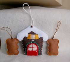 Gingerbread house and Katarzynki