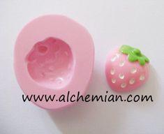 Fragola kawaii, stampo flessibile in gomma siliconica atossica, stampino   Hobby creativi, Altro hobby creativi   eBay!