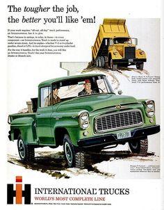 Old International Trucks | international trucks | Tumblr