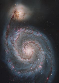 M51 from hubble - reprocessed