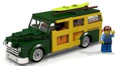 LEGO Ford Woody