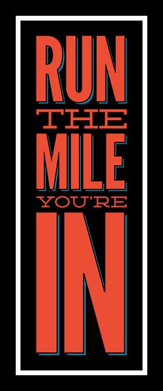 Run the Mile your In