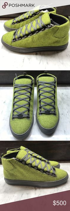 Balenciaga arena Very beautiful and rare these did not release In the states. Very lightly worn on carpet only condition is 9.5 out of 10 100%authentic sz 42 balenciagas Balenciaga Shoes Sneakers