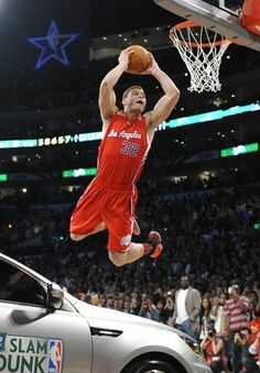 hot sales 288c2 dbb64 Blake Griffin over a Kia in the 2011 Dunk Contest Blake Griffin Dunk,  Griffin Nba