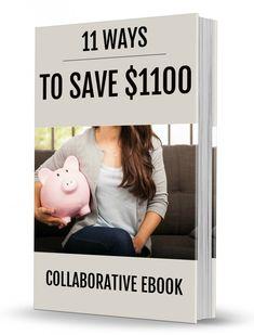 11 Ways to Save $1100 - free eBook download