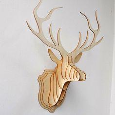 Wall Art | Antler Branch - Deer