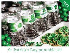 St Patricks Day Printables - site has hundreds of free printables