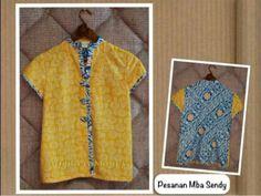 blouse Kebaya Dress, Batik Kebaya, Blouse Batik, Batik Dress, Big Size Fashion, Girl Fashion, Batik Fashion, Ethnic Looks, Simple Dresses