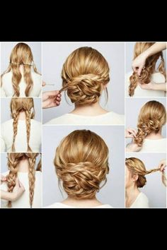 Braided Hairstyles. Plz Like When Saving.=]Step By Step! #tipit #Beauty #Trusper #Tip