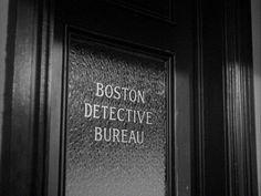 Taylor Holmes, Mystery Street (1950) Film Noir, Edmon Ryan