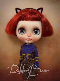 Ooak Custom Blythe Doll Chloe by Rabbit by rabbitbearhouse