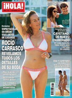 Exclusiva en ¡HOLA!, todos los detalles de la boda de Rocío Carrasco y Fidel Albiac