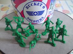 Toy Story Collection Bucket O Soldiers by imranbecks, via Flickr