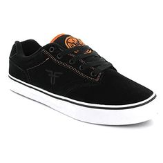 Fallen Men's Slash Skate Shoe,Black/Orange/Deathwish,11 M US - http://shop.dailyskatetube.com/product/fallen-mens-slash-skate-shoeblackorangedeathwish11-m-us/ -  Genuine heavy-duty suede uppers. Fallen emblem embroidery on aspect. Flippantly foam-padded collar and tongue for comfort and reinforce. Breathable and soft textile lining. EVA insole to take in affect and supply cushioning. Vulcanized sole construction for enhanced board feel. Highly -