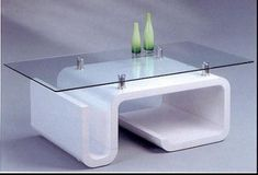 mesas de vidrio modernas de centro